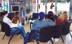 Domestic violence victims support group in israel